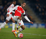 Theo Walcott of Arsenal - English FA Cup - Hull City vs Arsenal - The KC Stadium - Hull - England - 8th March 2016 - Picture Simon Bellis/Sportimage