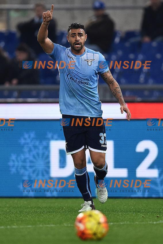 Mauricio Dos Santos Lazio <br /> Roma 04-12-2015 Stadio Olimpico Football Calcio 2015/2016 Serie A Lazio - Juventus Foto Andrea Staccioli / Insidefoto