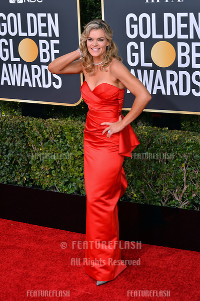 LOS ANGELES, CA. January 06, 2019: Missi Pyle at the 2019 Golden Globe Awards at the Beverly Hilton Hotel.<br /> Picture: Paul Smith/Featureflash