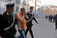 NAPOLI OPERAZIONE CARABINIERI CONTRO BANDA SPECIALIZZATA IN FURTI OPERE D'ARTE.FOTO CIRO DE LUCA