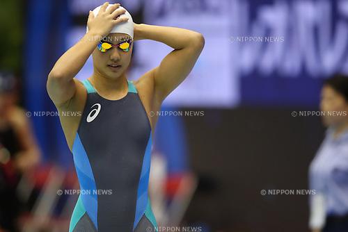 Runa Imai, <br /> APRIL 16, 2017 - Swimming : <br /> Japan swimming championship (JAPAN SWIM 2017) <br /> Women's 200m Breaststroke Heat <br /> at Nippon Gaishi Arena, Nagoya, Aichi, Japan. <br /> (Photo by Sho Tamura/AFLO SPORT)