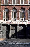 St. Louis: Laclede's Landing--Bronson Hides, First St.