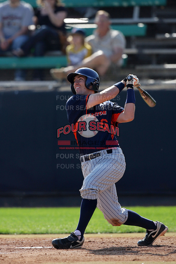 March 23, 2010: Billy Marcoe of Cal. St. Fullerton during game  against Loyola Marymount at LMU in Los Angeles,CA.  Photo by Larry Goren/Four Seam Images