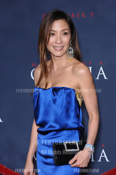 Actress MICHELLE YEOH at the Los Angeles premiere of her new movie Memoirs of a Gaisha..December 4, 2005  Los Angeles, CA..© 2005 Paul Smith / Featureflash