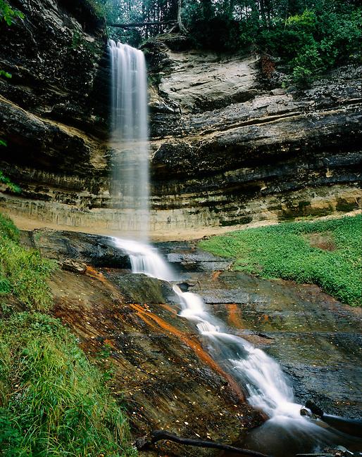 Munising Falls; Pictured Rocks National Lakeshore; Michigan