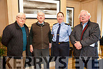 Kerry Garda Divisional community alert, Neighbourhood Watch and Text Alert meeting at Ballygarry House Hotel on Monday. Pictured  Jim Griffin, Listowel, Moss Hayes, Ballinorig, Cathy Murphy, Community Garda, and Pat Tobin, Ballinorig,
