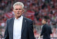FUSSBALL  CHAMPIONS LEAGUE  HALBFINALE  HINSPIEL  2012/2013      FC Bayern Muenchen - FC Barcelona      23.04.2013 Trainer Jupp Heynckes (FC Bayern Muenchen)