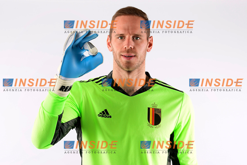 Matz Sels goalkeeper of Belgium  <br /> Tubize 12/11/2019 <br /> Calcio presentazione della nuova maglia della Nazionale del Belgio <br /> Photo De Voecht  Kalut/Photonews/Panoramic/insidefoto<br /> ITALY ONLY
