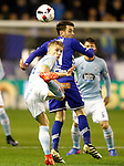 Deportivo Alaves' Ibai Gomez (r) and Celta de Vigo's Daniel Wass during Spanish Kings Cup semifinal 2nd leg match. February 08,2017. (ALTERPHOTOS/Acero)