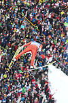 FIS Ski Jumping World Cup - 4 Hills Tournament 2019 in Innsvruck on January 4, 2019;  Kevin Bickner (USA) in action