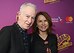 John McEnroe and Patty Smyth attends the Broadway Opening Performance of 'Charlie and the Chocolate Factory' at the Lunt-Fontanne Theatre on April 23, 2017 in New York City.