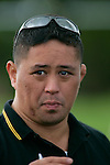 Bombay Coach Andrew Tupuhi. Counties Manukau Premier Club Rugby, Drury vs Bombay played at the Drury Domain, on the 14th of April 2006. Bombay won 34 - 13.