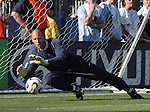 23 May 2006: United States goalkeeper Kasey Keller makes a save in pregame warmups. The United States Men's National Team lost 1-0 to their counterparts from Morocco at the Nashville Coliseum in Nashville, Tennessee in a men's international friendly soccer game.