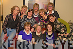 Elma Nolan, Eileen Cahillane, Noreen Kiely, Maura Cunningham, Helen Flahive, Shirley Clifford, Miranda Aherne, Maura O'Boyle, Caroline Foley and Agne Kremenskiene, MacBees Killarney, enjoying their night out in Lord Kenmares on Friday night......
