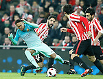 Athletic de Bilbao's Raul Garcia (r) and FC Barcelona's Neymar Santos Jr during Spanish Kings Cup match. January 05,2017. (ALTERPHOTOS/Acero)