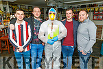 Sean House, Dean Bastible, Philip Moriarty, Seamus Bastible and Danny Linnane n Linnanes Bar enjoying the Gold Cup on Friday
