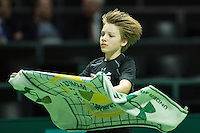 Rotterdam, The Netherlands, Februari 11, 2016,  ABNAMROWTT, Ball-Boy<br /> Photo: Tennisimages/Henk Koster