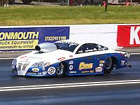 Jun. 1, 2014; Englishtown, NJ, USA; NHRA pro stock driver John Gaydosh during the Summernationals at Raceway Park. Mandatory Credit: Mark J. Rebilas-