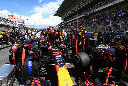 May 14th 2017, Circuit de Barcelona, Catalunya, Spain; Spanish Formula One Grand Prix; Sunday Race Day;  Max Verstappen - Red Bull Racing RB13