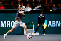 Rotterdam, The Netherlands, 11 Februari 2020, ABNAMRO World Tennis Tournament, Ahoy, <br /> Andrey Rublev (RUS).<br /> Photo: www.tennisimages.com