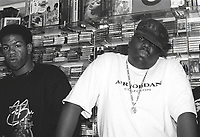 Craig Mack, the New York rapper who scored a 1994 hit with Flava in Ya Ear, has died of heart failure, aged 46<br /> ***FILE PHOTO*** Craig Mack Has Passed Away<br /> Craig Mack and Biggie Smalls a.k.a. the Notorious BIG<br /> Philadelphia, 1994<br /> CAP/MPI/BUN<br /> &copy;BUN/MPI/Capital Pictures