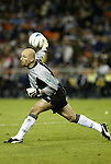 6 November 2004: Matt Reis throws the ball up the field. DC United defeated the New England Revolution 4-3 on penalties after the game ended in a 3-3 tie at RFK Stadium in Washington, DC in the Major League Soccer Eastern Conference Championship Match. .