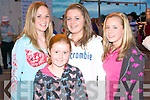 GOOD TIME: Enjoying a good time at the Friends of KGH Night at the Kingdom Greyhound Stadium on Friday l-r: Niamh Corcoran and Ava Kelliher, Caherslee, Gra?inne Griffin, The Kerries and Ciara Dobbelaar, Cahermoneen.