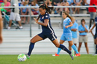Piscataway, NJ - Saturday Aug. 27, 2016: Taylor Lytle during a regular season National Women's Soccer League (NWSL) match between Sky Blue FC and the Chicago Red Stars at Yurcak Field.