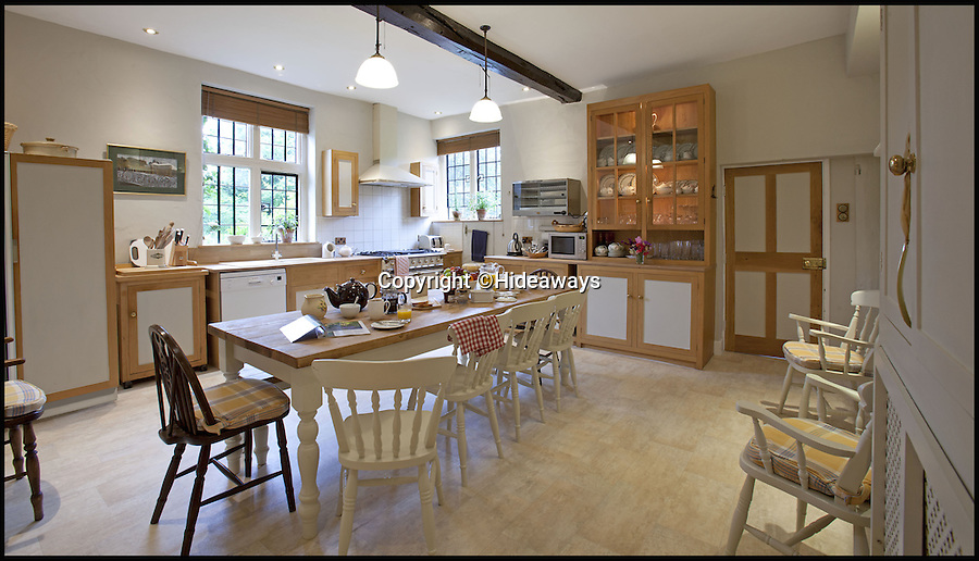 BNPS.co.uk (01202 558833)<br /> Pic: Hideaways/BNPS<br /> <br /> Fully modern kitchen.<br /> <br /> You can now live like a king... but it will cost you £6,000 a week!<br /> <br /> This stunning historic house offers the ultimate 'Lord of the Manor' experience - but you'll need deep pockets to enjoy the life of luxury.<br /> <br /> The Grade II* listed King John's House has eight opulent bedrooms and exquisite period features dating back to medieval times, but staying there will set you back a whopping £5,682 per week.<br /> <br /> The site in Tollard Royal, Wiltshire, was once a Royal hunting lodge used by King John in the early 13th century but since the death of the last owner William Gronow Davis last year it has now become a very exclusive rental property for groups wanting to celebrate a milestone birthday or anniversary in style.