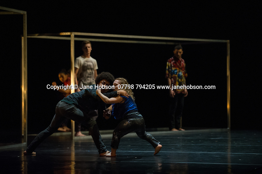National Youth Dance Company Framed Sidi Larbi Cherkaoui
