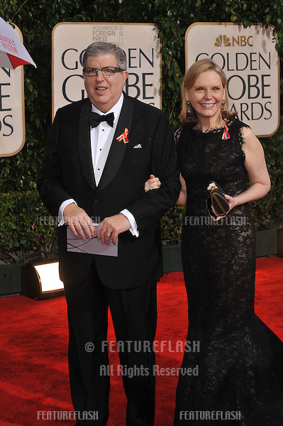 Marvin Hamlisch at the 67th Golden Globe Awards at the Beverly Hilton Hotel..January 17, 2010  Beverly Hills, CA.Picture: Paul Smith / Featureflash