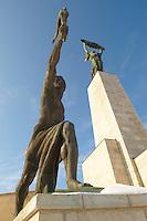 Citadella - Szabadság Szobor. Citadel freedom statues - Budapest - Hungary