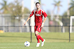 January 11, 2013: Eric Schoenle (West Virginia). Day 1 of the Combine. The 2013 adidas MLS Player Combine was held January 11-15, 2013 at Central Broward Regional Park in Lauderhill, Florida.