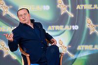 Rome, 11 Settembre, 2010. Silvio Berlusconi durante la sua partecipazione ad Atreju 2010.