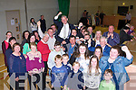 Donal grady celebrates with his family and friends after being elected in the Killarney Area on Sunday evening