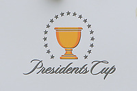 Signage for the Presidents Cup during the First Round - Four Ball of the Presidents Cup 2019, Royal Melbourne Golf Club, Melbourne, Victoria, Australia. 12/12/2019.<br /> Picture Thos Caffrey / Golffile.ie<br /> <br /> All photo usage must carry mandatory copyright credit (© Golffile | Thos Caffrey)