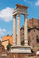 Ionian Cloums next to Marcello Theatre . Rome