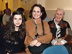 Annie Newton, Linda Flynn and Dympna Flynn pictured at Limetree Theatre Group's presentation of The Field by John B Keane in Duleek parish centre.