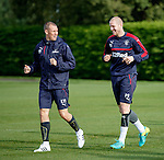 Kenny Miller and Philippe Senderos