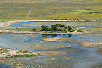 Flooding on Colorado plains, Adams County, Colorado. Aug 2014