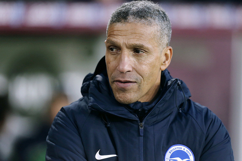 Brighton & Hove Albion manager Chris Hughton <br /> <br /> Photographer Rich Linley/CameraSport<br /> <br /> The Premier League - Burnley v Brighton and Hove Albion - Saturday 8th December 2018 - Turf Moor - Burnley<br /> <br /> World Copyright © 2018 CameraSport. All rights reserved. 43 Linden Ave. Countesthorpe. Leicester. England. LE8 5PG - Tel: +44 (0) 116 277 4147 - admin@camerasport.com - www.camerasport.com