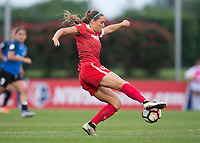 Boyds, MD - Saturday May 20, 2017:Shelina Zadorsky during a regular season National Women's Soccer League (NWSL) match between the Washington Spirit and FC Kansas City at Maureen Hendricks Field, Maryland SoccerPlex.