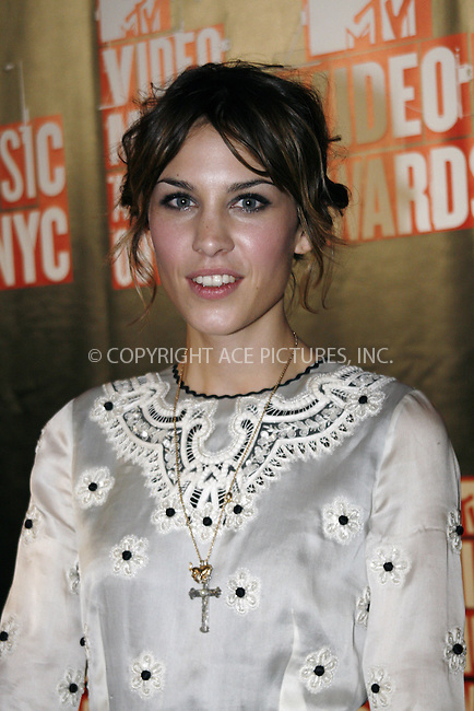 WWW.ACEPIXS.COM . . . . .  ....September 13 2009, New York City....Alexa Chung outside the 2009 MTV Video Music Awards at Radio City Music Hall on September 13 2009 in New York City.....Please byline: NANCY RIVERA- ACE PICTURES.... *** ***..Ace Pictures, Inc:  ..tel: (212) 243 8787 or (646) 769 0430..e-mail: info@acepixs.com..web: http://www.acepixs.com