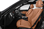 Front seat view of 2017 BMW 3-Series 330i-Sports-Wagon 5 Door Wagon Front Seat  car photos