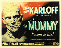 The Mummy (1932) <br /> Lobby card<br /> *Filmstill - Editorial Use Only*<br /> CAP/KFS<br /> Image supplied by Capital Pictures