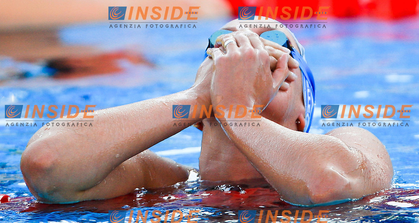 Roma 26th July 2009 - 13th Fina World Championships From 17th to 2nd August 2009.Women's 400m freestyle.Federica Pellegrini ITA Gold Medal and World Record..photo: Roma2009.com/InsideFoto/SeaSee.com