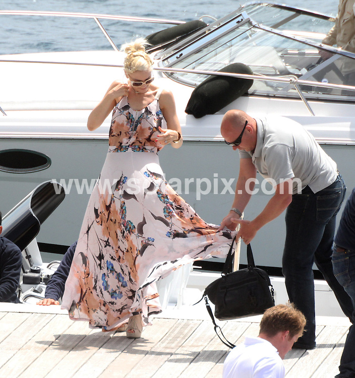 **ALL ROUND PICTURES FROM SOLARPIX.COM**                                             **UK AND SPAIN SYNDICATION RIGHTS ONLY**                                                                                  Caption: Gwen Stefani arrives at Hotel Eden Roc during the 64th Cannes Film Festival, Cannes, France. 15 May 2011                                                                               This pic: Gwen Stefani                                                                                    JOB REF: 13348 CPR       DATE: 15_05_2011                                                           **MUST CREDIT SOLARPIX.COM OR DOUBLE FEE WILL BE CHARGED**                                                                      **MUST AGREE FEE BEFORE ONLINE USAGE**                               **CALL US ON: +34 952 811 768 or LOW RATE FROM UK 0844 617 7637**