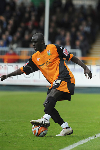 8.5.2010. Barnet Football Ground. Barnet drive forward seeking the winning goal. Barnet   1 - 0   Rochdale. Albert Jarrett scored a last-gasp winner for Barnet as the Bees secured their Football League survival.