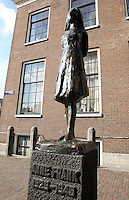 Anne Frank Monument in Amsterdam
