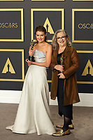09 February 2020 - Hollywood, California - Carol Dysinger, Elena Andreicheva attend the 92nd Annual Academy Awards presented by the Academy of Motion Picture Arts and Sciences held at Hollywood & Highland Center. Photo Credit: Theresa Shirriff/AdMedia